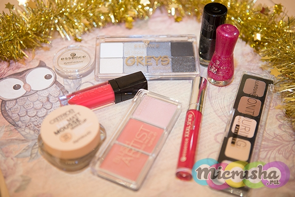 Essence новогодний макияж
