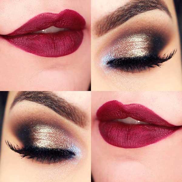 макияж для новогодней ночи