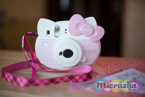 фотоаппарат детский фотоаппарат Fujifilm Instax Mini Hello Kitty
