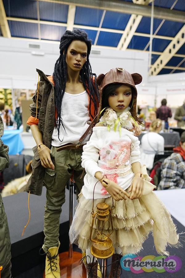 Куклы Юлии Южаковой на Тишинке