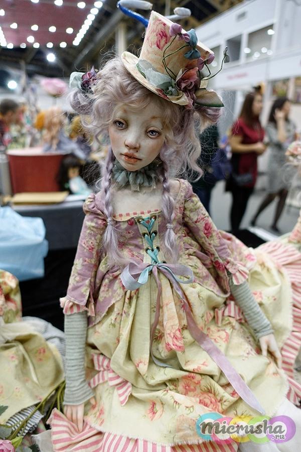 Карденчики выставка кукол на тишинке