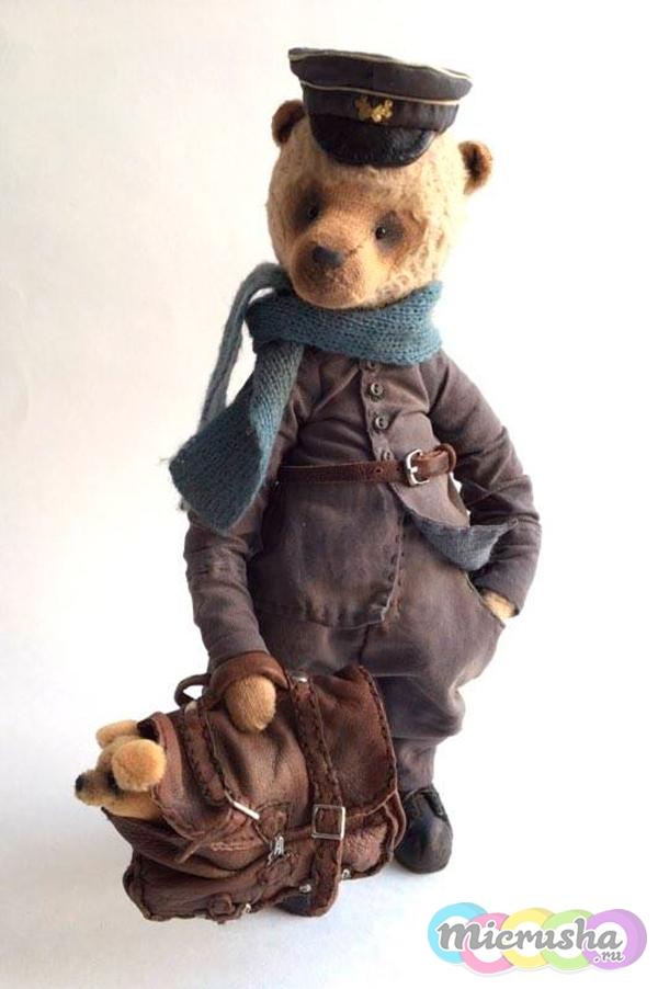 коллекционный медведь