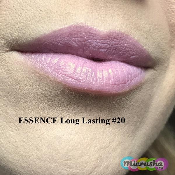 Помада от Essence Long lasting #20