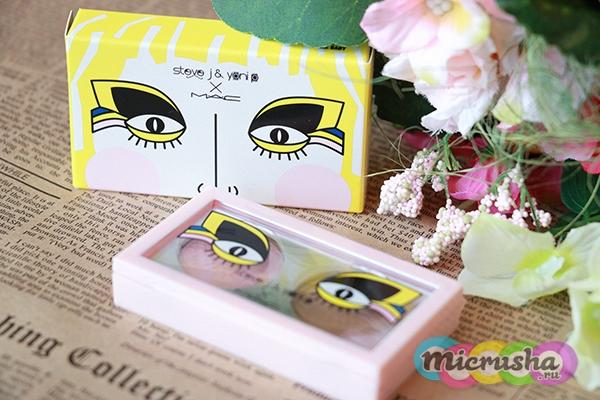 двухцветная палетка теней Touch Me Baby Eyeshadow Duo