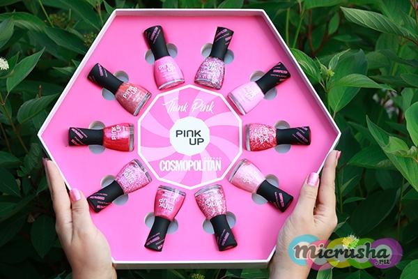 Лимитированная коллекция лаков от Pink Up