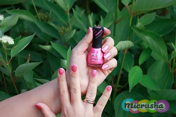 Лимитированная коллекция лаков от Pink-Up
