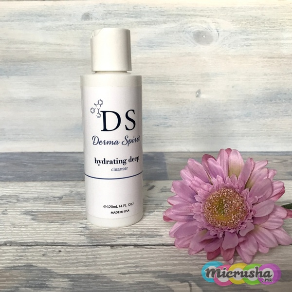 Derma Spirit hydrating deep cleanser