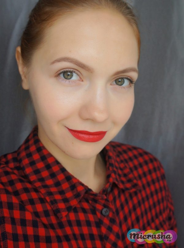 Avon Mark. The bold lipstick Ruby shock