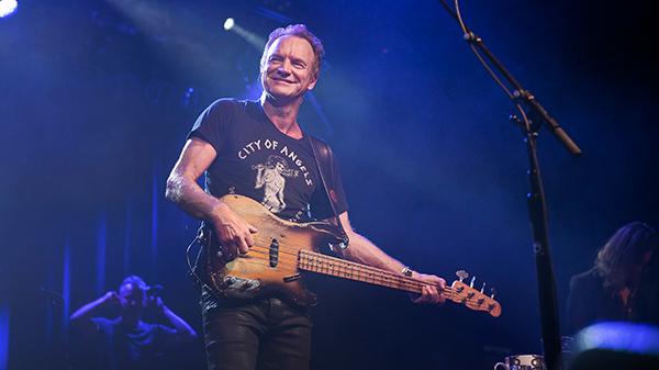 концерт Sting