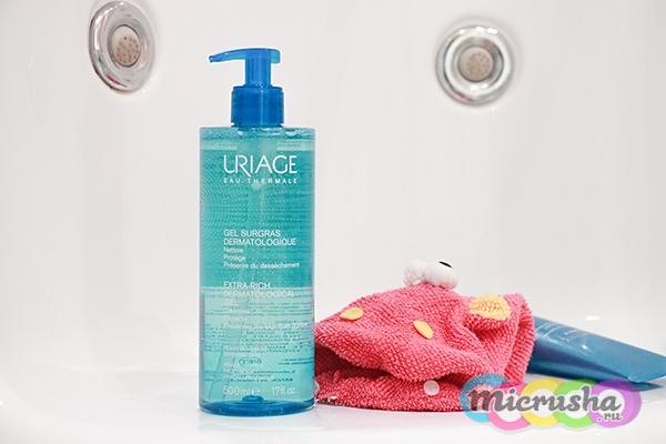 дерматологический гель для умывания Uriage