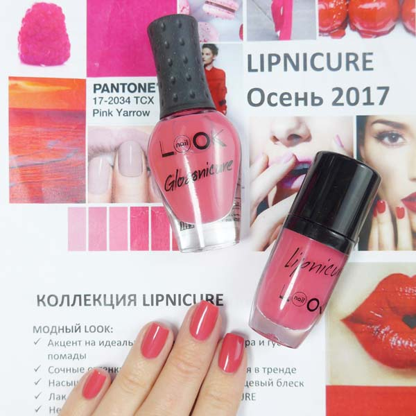 Naillook Lipnicure Glossnicure Chic