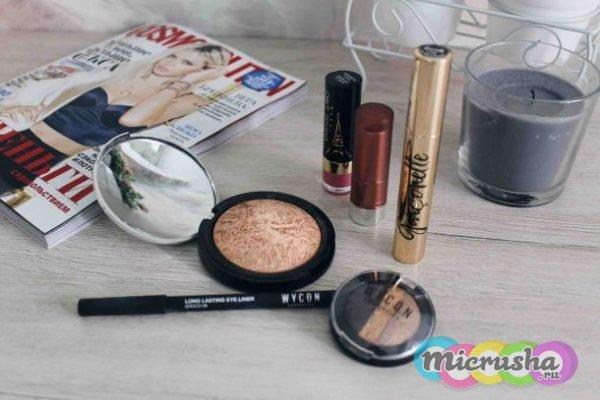 легкий ежедневный макияж
