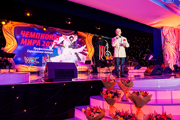 президент Российского танцевального союза, почетный вице-президент WDC Станислав Попов