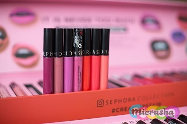 Кремовая помада Sephora Cream Lip Stain