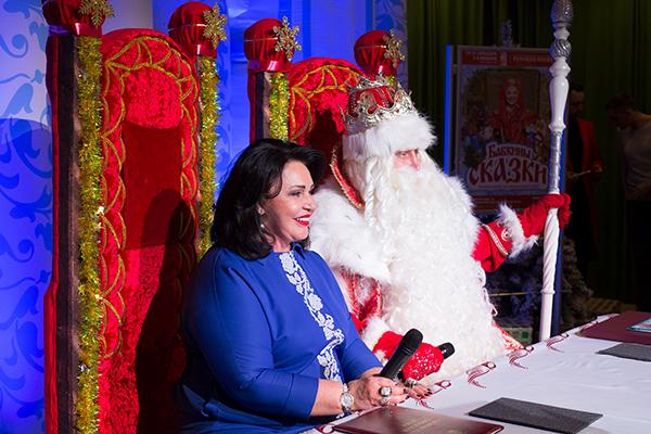 Надежда Бабкина и Дед Мороз