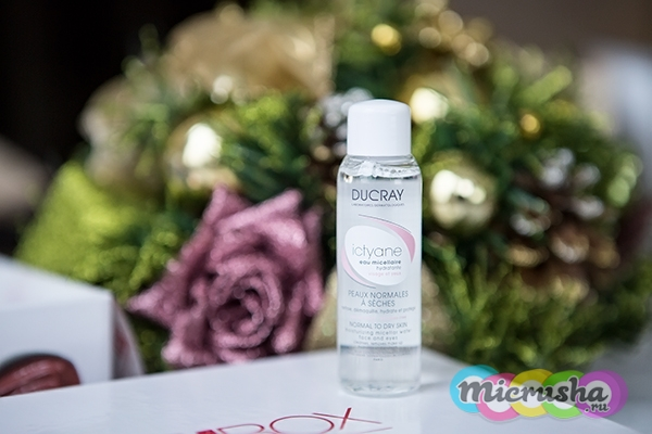 Ducray Ictyane увлажняющая мицеллярная вода для лица и глаз