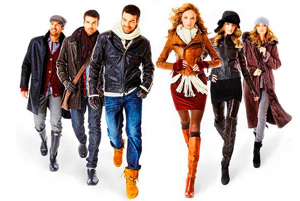 Дизайн современной одежды для мужчин и женщин