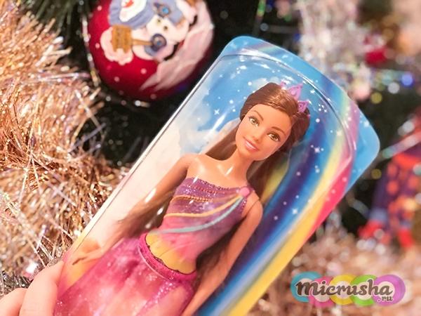 подарок для девочки на новый год Barbie