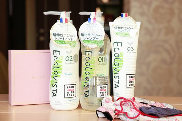 Уход за волосами Ecolovista