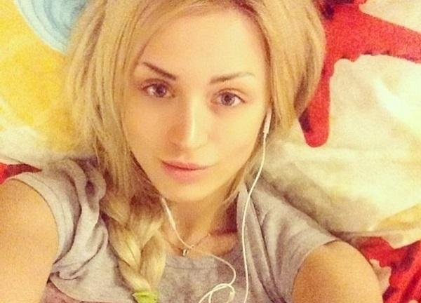 Диана Игнатюк без макияжа