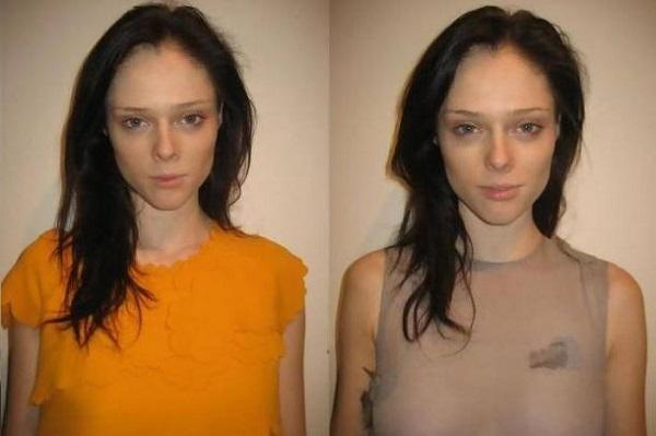Коко Роша без макияжа
