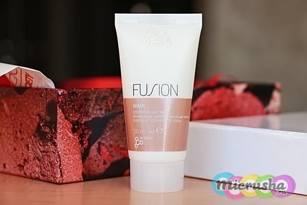 Интенсивная восстанавливающая маска Fusion Wella Professional