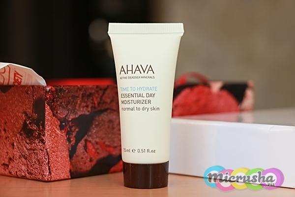 Увлажняющий дневной крем TIME TO HYDRATE для нормальной и сухой кожи AHAVA