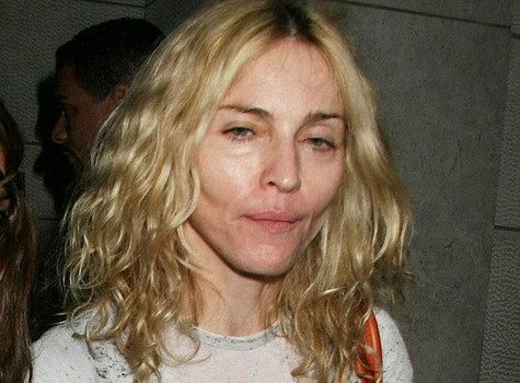 Мадонна без макияжа