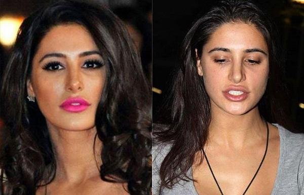 Индийские актрисы без косметики