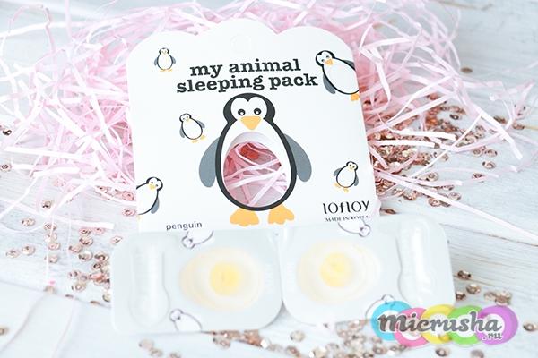 корейская маска-пингвин Lofloy