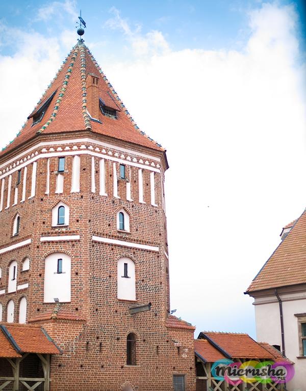Мирский замок башня