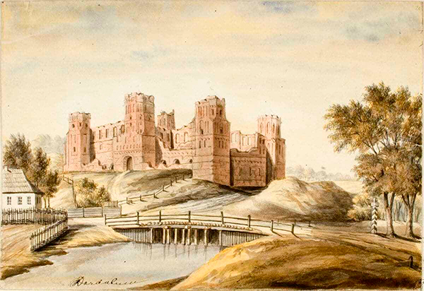 Мирский замок, история