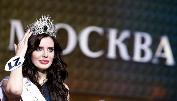 Мисс Москва 2009 Юлия Образцова.