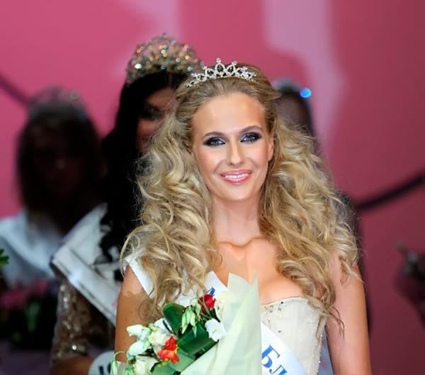 Мисс Москва 2010 Наталья Переверзева