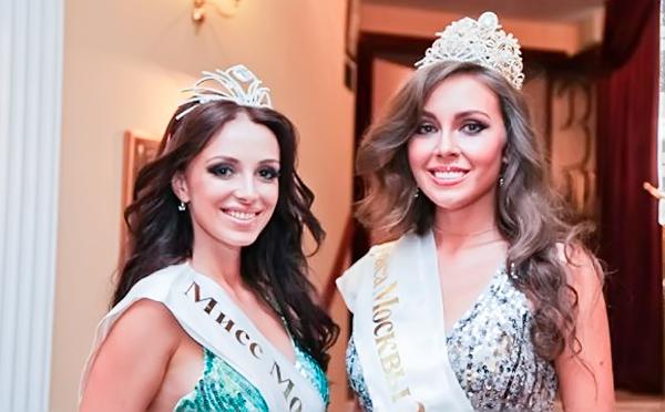 Мисс Москва 2012 и 2011