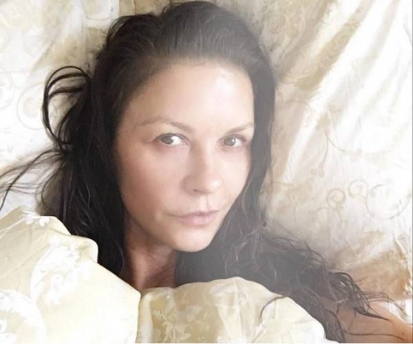 Кэтрин Зета-Джонс без макияжа