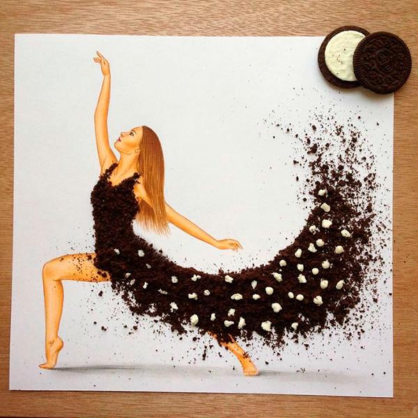 платье из печенья