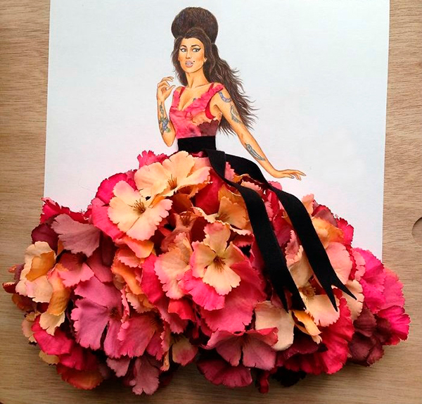 Платье в стилеЭми Уайнхаус