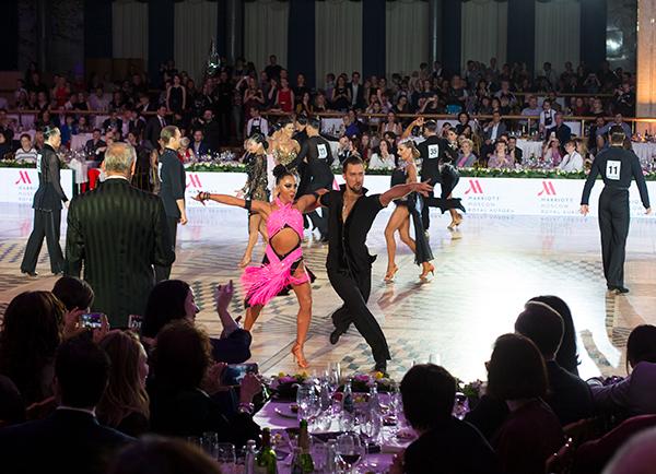 Чемпионат мира в Кремле по бальным танцам 2018
