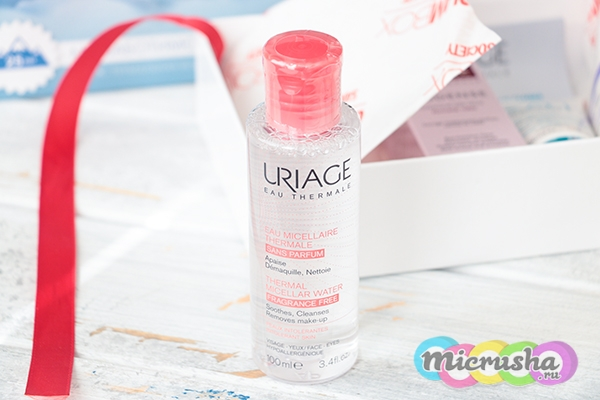Очищающая мицеллярная вода Uriage