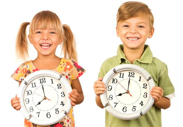 время с ребенком