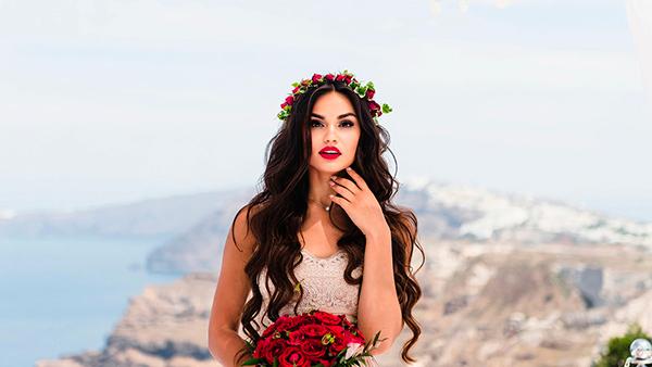 Свадебный макияж 2018 с акцентом на губы