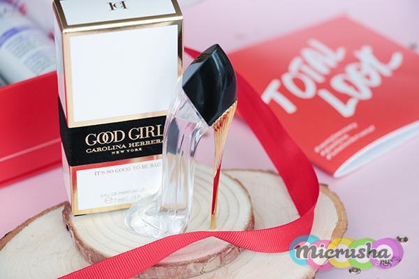 Парфюмерная вода Good girl eau de parfum LÉGÈRE Carolina Herrera