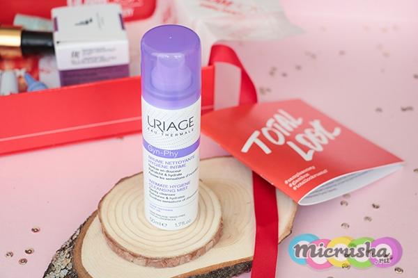 Очищающая дымка-спрей для интимной гигиены Uriage