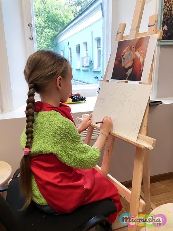 как научится рисовать