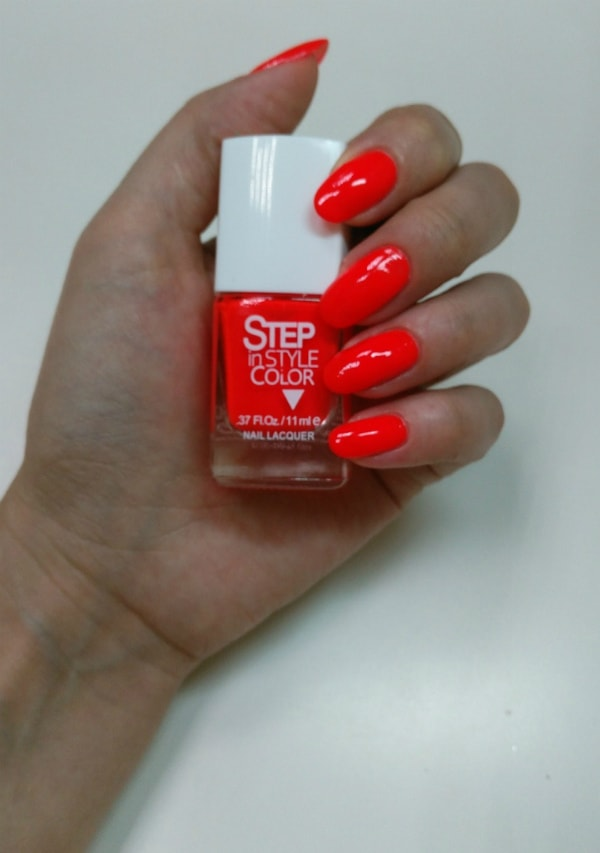 лаки для ногтей Step in style color - №31