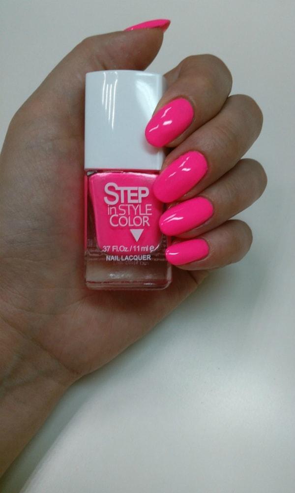 лаки для ногтей Step in style color - №30