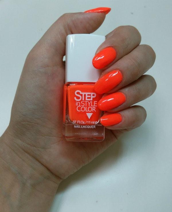 лаки для ногтей Step in style color - №27