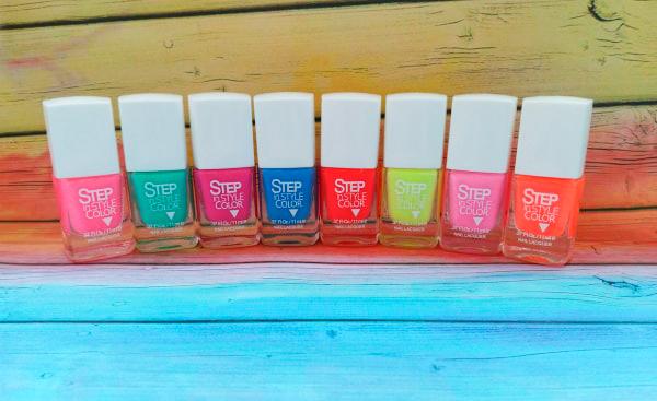 лаки для ногтей Step in style color