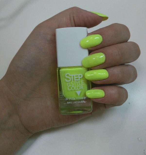 лаки для ногтей Step in style color - №26